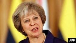 برطانوی وزیر اعظم ٹریسا مے