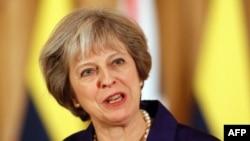 테레사 메이 영국 총리.