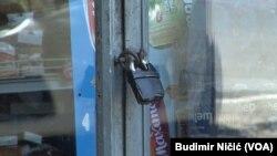 Zatovrene prodavnice na Severu Kosova