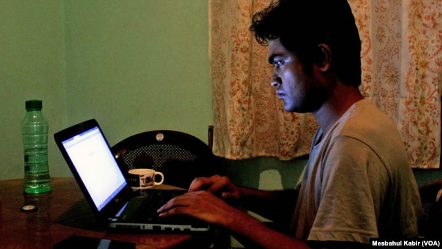 "FILE - Bangladeshi blogger Ibrahim Khalil has been living in hiding since 2013 when the Islamists drew up a list of 84 ""anti-Islam"" atheist bloggers and called for their public execution."