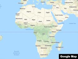 Ramani ya Africa