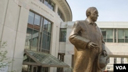 Emory University's main library is named for former Coca-Cola Company president Robert W. Woodruff.