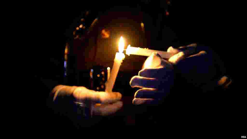 """Возжигание свечей. """"Неделя памяти"""""""