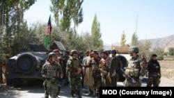 Foto de arquivo: Exército Nacional Afegão