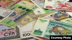 2013-yida so'mdagi eng yirik banknot 5000 so'mlik kupyura 2,5 AQSh dollari atrofida baholanib, iste'molga chiqqan edi