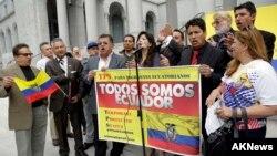 El gobierno ecuatoriano también hizo el pedido al gobierno estadounidense para que otorgue el amparo migratorio.