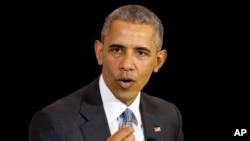 Barack Obama, Chicago, 7 avril 2016