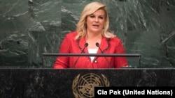 Hırvatistan Cumhurbaşkanı Kolinda GrabarKitarovic