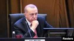 Perezida wa Turukiya Recep Tayyip Erdogan