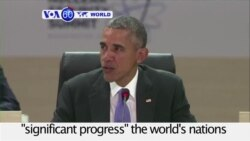 VOA60 World PM - Obama Touts Iran Deal at Nuclear Security Summit