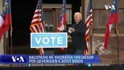 Balotazhi në Xhorxhia thelbësor për qeverisjen e zotit Biden