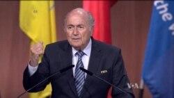 FIFA President Sepp Blatter's Remarks, May 29, 2015