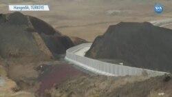 İran Sınırına Duvar İnşaatı Sürüyor