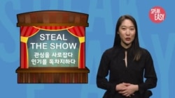 [Speak Easy] 관심을 독차지하다 'Steal the show'