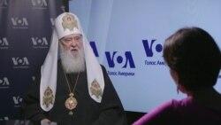 Інтерв'ю Святішого Патріарха Київського і всієї Руси-України Філарета. Відео
