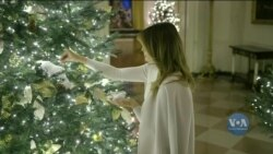 Цікаві факти про традицію прикрашання Білого дому до Різдва. Відео