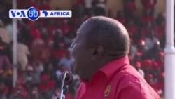 VOA60 Afirka - Satumba 16, 2013, Morgan Tsvangirai, MDC, Zimbabwe