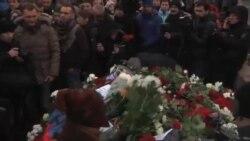 راهپیمایی برای یادبود مخالف پوتین در مسکو