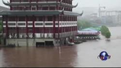 长江中下游洪水肆虐