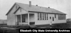 The Rosenwald Practice School circa 1925 (Courtesy Elizabeth City State University Archives)