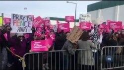 У США прокотились акції протестів проти права жінок на аборти та контрацепцію. Відео