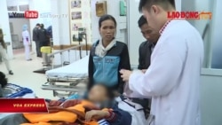 Bắc Ninh: Sập lan can, hàng chục học sinh nhập viện