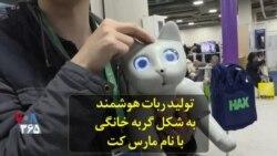 تولید ربات هوشمند به شکل گربه خانگی با نام مارس کت