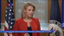 سخنگوی وزارت خارجه آمریکا، ایران را مسئول خسارتها به اماکن آمریکایی میداند
