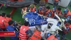 Xác định máy bay tuần thám của VN rơi ngoài khơi gần Hải Phòng