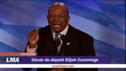 Portrait du député Elijah Cummings