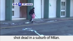 VOA60 World - Suspect in Berlin Christmas market attack, Anis Amri, shot dead in Italy
