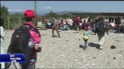 Gjendja e refugjatëve në kufirin Maqedoni-Greqi