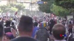 委內瑞拉人繼續抗議總統奉行社會主義 (粵語)