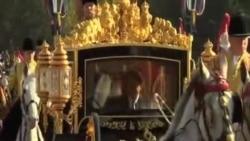 英女皇正式歡迎習近平夫婦訪問英國