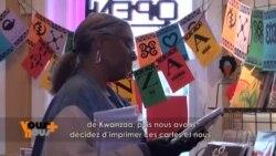 Des Cartes de Voeux africaines à Washington chez Kuumba Kollectibles