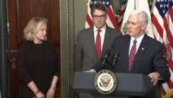 Rick Perry Sworn in as Energy Secretary