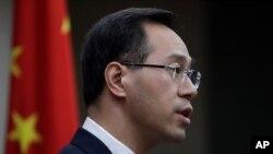가오 펑 중국 상무부 대변인.