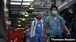 Zdravstveni radnici u Teksasu