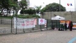 Sindicatos fazem greve geral contra reformas do Governo no Brasil