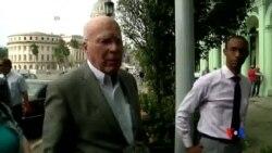 2015-01-18 美國之音視頻新聞: 美國國會代表團訪問古巴