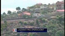 Pas operacionit në Lazarat