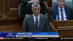 Thaçi, thirrje për ekip të përbashkët për bisedimet me Serbinë