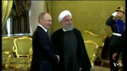Russian, Iranian Presidents Meet on Syria and Economic Issues