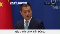 Trung Quốc sẽ hoàn tất cải tạo đất ở Biển Đông (VOA60)