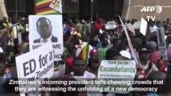 Mnangagwa Azarahirira Kuyobora Zimbabwe Kuwa Gatanu.