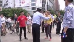 长江船难家属发起抗议活动
