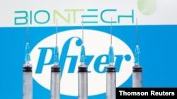 Inggris menyetujui penggunaan darurat vaksin produksi bersama perusahaan Pfizer dan BioNTech (foto: ilustrasi).