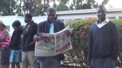 Zimbabwe Voters Throng Polling Stations To Vote Alongside Mugabe