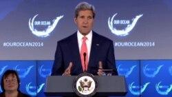 Kerry: protección de océanos vital para seguridad internacional