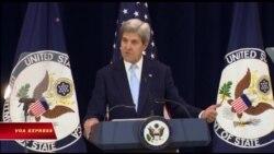 Ông Kerry nêu viễn kiến về thỏa thuận Israel-Palestine trong nỗ lực cuối cùng